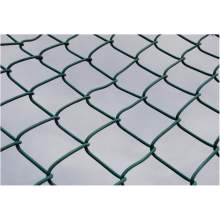 Railway Fence PVC Coated Iron Wire Mesh Chain Link Fence