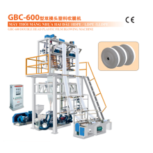 GBC-600 Double Head Plastic Film Blowing Machine