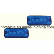 Marqueur latéral LED bleu et lampe de dégagement
