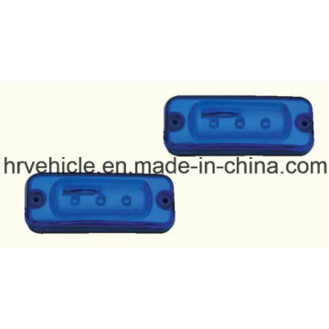 Blue LED Side Marker and Clearance Lamp