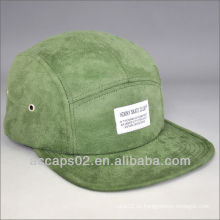 Suede 5 Panel Lager Cap