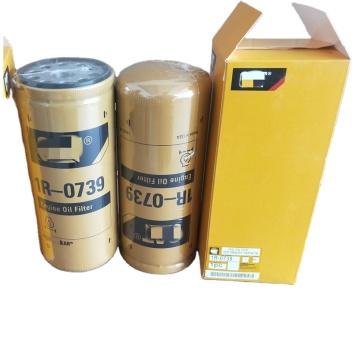 Filtro de aceite de los recambios del motor del excavador 1R-0739