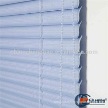 Durable S shape outdoor pvc blinds shutter