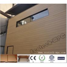 Revestimento composto da parede da cor WPC de 156x21mm Wood (156S21)