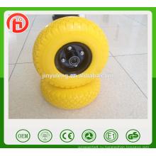 6 х2 2.50-4 3.00-4 3.50-4 400-8 Китай высокое качество ПУ пены колеса для ручной тележки инструмента, тележки тачка