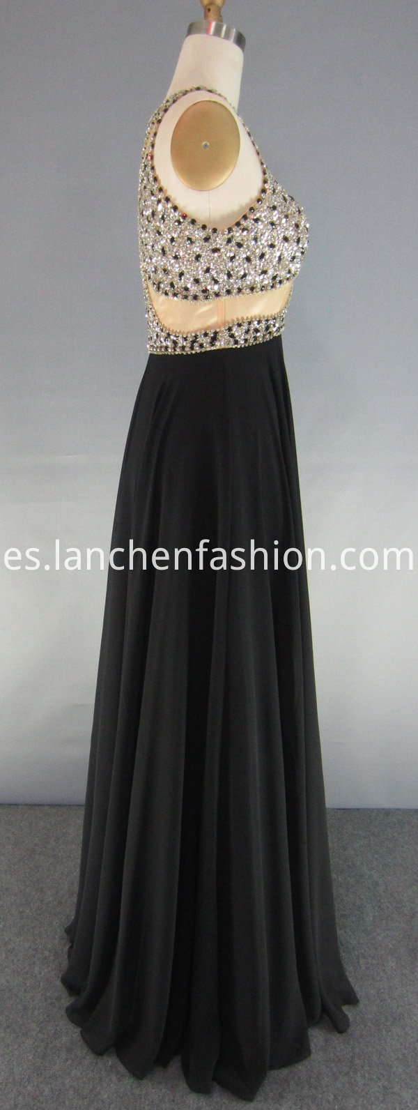 Long Chiffon Prom Dresses