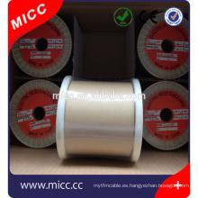 Cable eléctrico resistente al calor profesional de nichrome