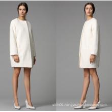 Newest Fashion Design Long Winter Women′s Coat