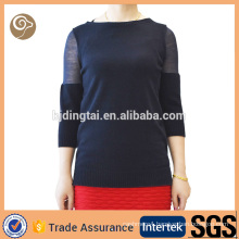 Women fashion wholesale knitted cashmere sweater india