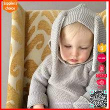 Späteste Mode lange Ärmel crewneck Kinder Kaschmir Pullover Pullover