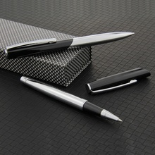 Ball pen aluminum in black color