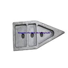 Aleación de zinc piezas de fundición de hierro aprobado SGS, ISO9001: 008
