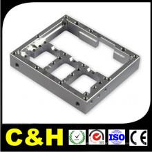 Peças de aço inoxidável polido com CNC fresado