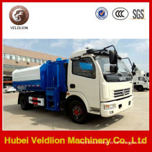 6 Ton Bucket Side Lifter Garbage Truck,