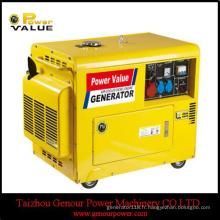 Générateur silencieux portatif de générateur diesel de 3kVA 5kVA 10kVA