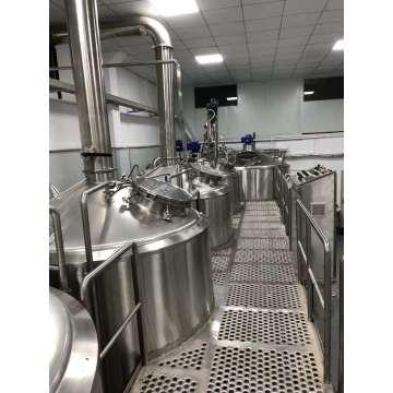Équipement de microbrasserie de brassage de bière commerciale 20hl 30hl