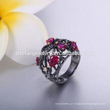 Anel de prata de rubi projetos para homens homens gays anel preço barato