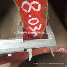 Fournisseur chinois, en gros, tuyau en acier étiré à froid