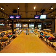 Equipamento de Bowling Alley