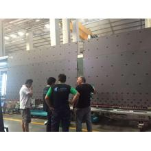 Double silicone insulating glass sealant spreading machinery