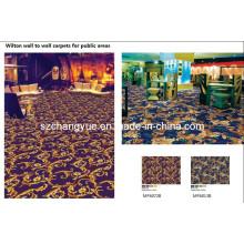 Máquina hecha PP Wilton Muro a pared Hotel Carpets
