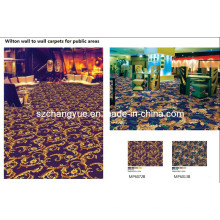 Machine Made PP Wilton Wall to Wall Hotel Tapis
