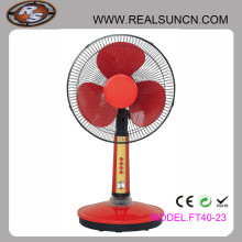 Popular Design Solar Fans 12V DC Table Fan with LED Light