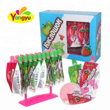 Halal Fruits Liquid Jelly Jam Candy