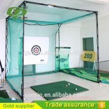 2017 nouveau style GP Gros pas cher practice de golf net et cage / golf chipping nets / practice de golf tente