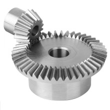 Sudut Straight Pinion Bevel Gear untuk Mesin Industri