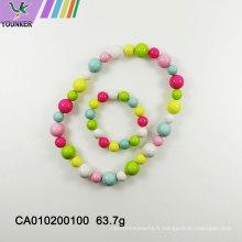 Nouvelle vente de perles de bonbons pour les colliers pour enfants