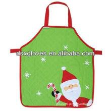 Avental de alta qualidade das crianças de Santa