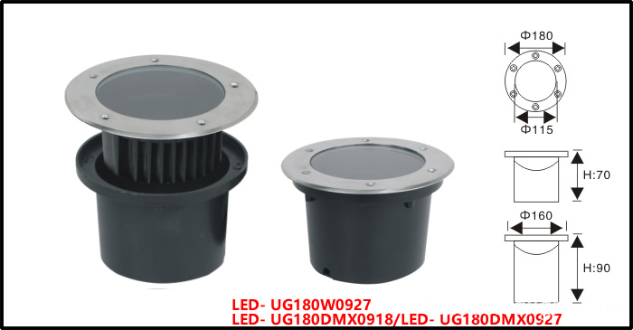Dimension LED Underground light 27W-02