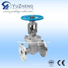 Фланцевый запорный клапан из нержавеющей стали (Z41W-16P)