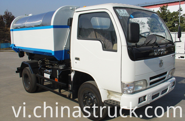 Dongfeng small detachable garbage truck