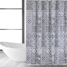 Shower Curtain PEVA Ceramic Tile