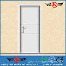 JK-P9206 cheap door pvc coated wood door pvc plastic louvered door