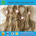 Cuerda de yute de alta resistencia de alta calidad del yute de la cuerda de embalaje de 6m m