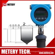 Ultrasonic fuel level gauge sensor