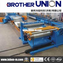 Placa de bobina cortada a longitud Ctl línea de máquina en China