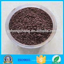 Природный песок марганца фильтрующих материалов в водоподготовке