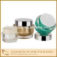 Cosmetic jar with three size and New acrylic cosmetic jar