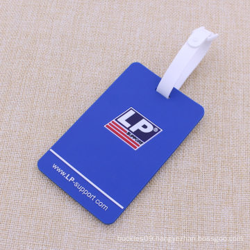 Business Gift Plastic Rubber Silicone PVC Luggaage Tags for Promtional