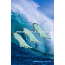 2015 new style honeycomb fiberglass surfboard fin.