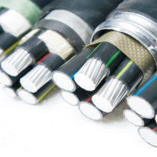 Al PVC Insulator Jacket STA Electric Power Cables