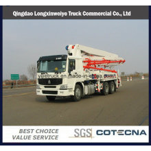 48m Boom Concrete Pump Truck with HOWO&Isuzu Brand Chassis