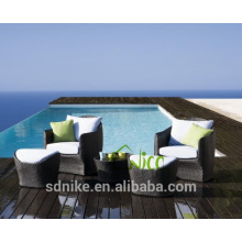 SL-(21) outdoor synthetic rattan leisure patio furniture single sofa