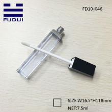 High quality plastic square empty lipgloss tube