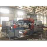 Pe The Huge Calibre Hollowness Wall Winding Pipe Production Line