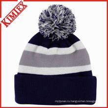 Зимняя мода теплая шапка